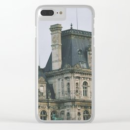 Hotel de Ville, Paris Clear iPhone Case