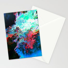Athēnaḯs (Abstract 41) Stationery Cards