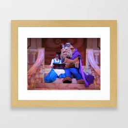 HOLLYWOOD STUDIOS: A Tale As Old As Time Framed Art Print