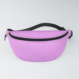 Spring - Pastel - Easter Purple Solid Color 2 Fanny Pack