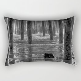 Pismo Beach Pier Rectangular Pillow