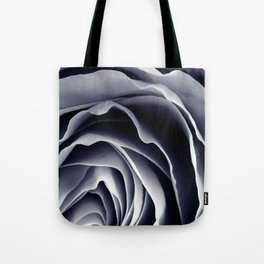 Purple Rose Macro Tote Bag
