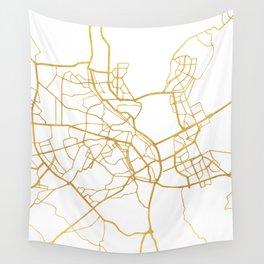 KIEV UKRAINE CITY STREET MAP ART Wall Tapestry