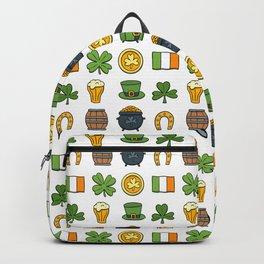 St Patricks day pattern Backpack