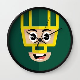 Kickass Wall Clock