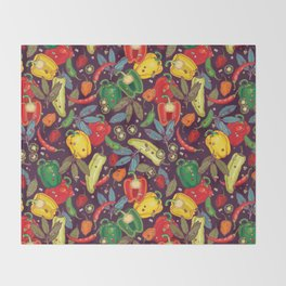 Hot & spicy! Throw Blanket