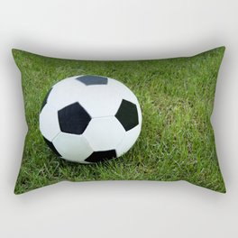 Soccer Ball Rectangular Pillow