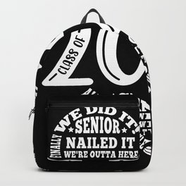 Class of 2022 Senior Graduation Design Backpack