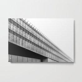 Black and White Munich Architecture Metal Print