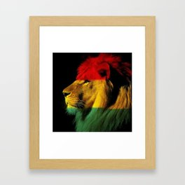 Afrique Kings Framed Art Print