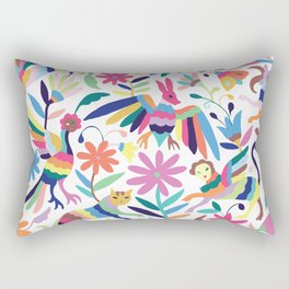 Creatures Otomi Rectangular Pillow