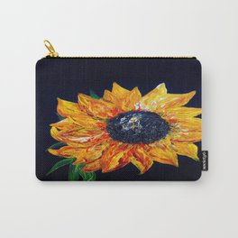 Sunflower Outburst Carry-All Pouch