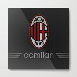 Ac Milan Football Club - Milan Italy Metal Print