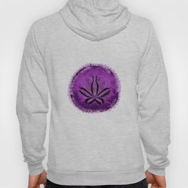 Live Purple Sand Dollar Hoody