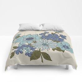 Dorchester Flower 1 Comforters
