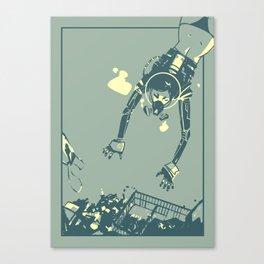 Treasure Diving Canvas Print