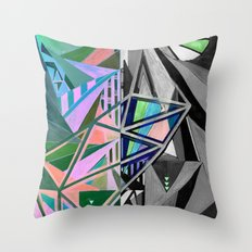 Negative Throw Pillow