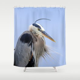 Blow Dry Shower Curtain