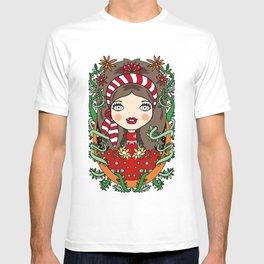 Ella y la naturaleza T-shirt