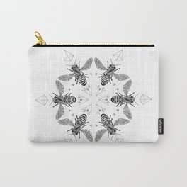 Mandala - Killer Bees Carry-All Pouch