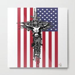 Happy Memorial Day Metal Print