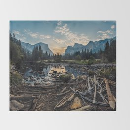 May Your Adventures Be Wild Throw Blanket