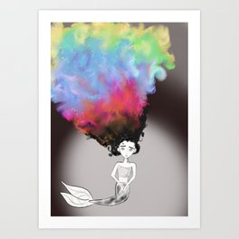 Feeling Colorful Art Print