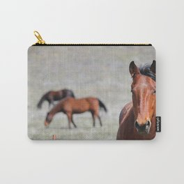 Extremely Photogenic Horse Carry-All Pouch