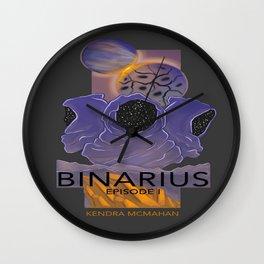 BINARIUS EPISODE I -- COVER Wall Clock