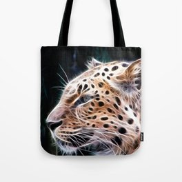 Leopard lines,Leopard painting Tote Bag