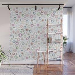 Geometric Flower Garden Wall Mural