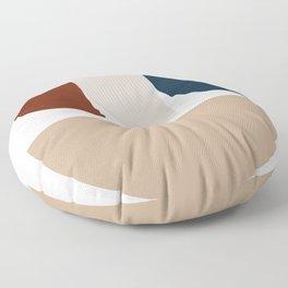 Mid-Century Modern Art # 22 Floor Pillow