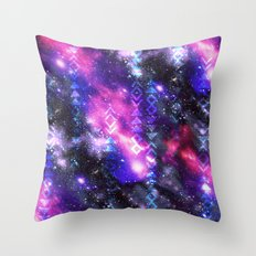 Tribal Galaxy Throw Pillow