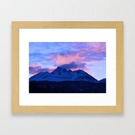Serenity Rose Sunrise III Framed Art Print