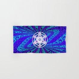 Metatron's Cube - Torus Hand & Bath Towel