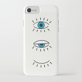 Summer Evil Eyes iPhone Case