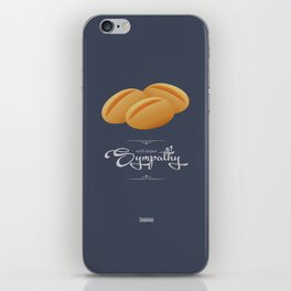 D&R Dinner Rolls: With Deepest Sympathy iPhone Skin