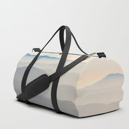 Erie Layered Mountains Landscape Duffle Bag