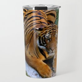 Pool Side Tiger Travel Mug