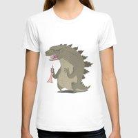 godzilla T-shirts featuring Godzilla by Rod Perich