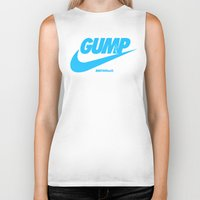 forrest gump Biker Tanks featuring Gump- JustDoIt IV by IIIIHiveIIII