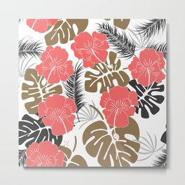 Tropical pattern 024 Metal Print