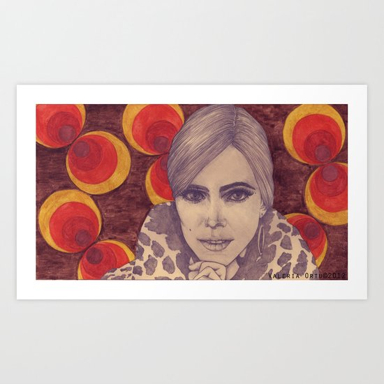 Factory Girl Art Print