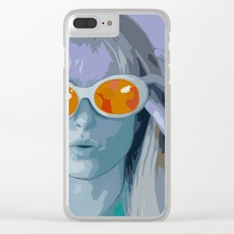 Hayley Williams Pop Art Clear iPhone Case