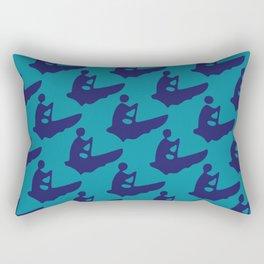 GuideBoat Blues Rectangular Pillow