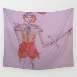 A Battle Scarred Conquistador. Wall Tapestry