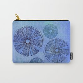 Blue Sea Urchin Carry-All Pouch