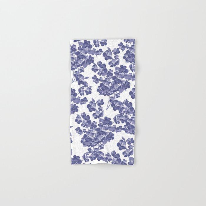 Floral pattern 14 Hand & Bath Towel