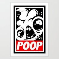 obey Art Prints featuring OBEY by Artistic Dyslexia