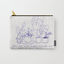 worry plants Carry-All Pouch